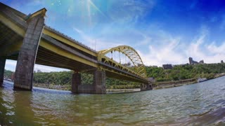 Fort Pitt Bridge Establishing Shot
