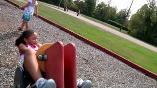 Girl at Playground 921