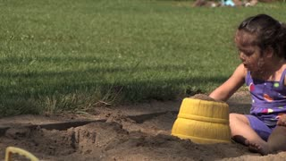 Girl in Sandbox 655