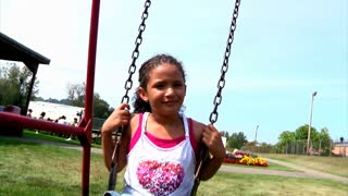 Girl on Swing 920