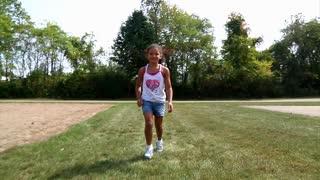 Girl Running 919