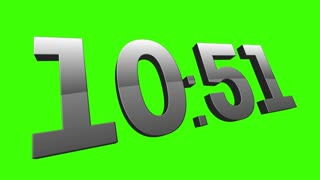 Green Screen Countdown Timer 3592