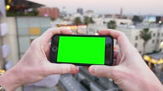 Green Screen Smartphone in Hollywood