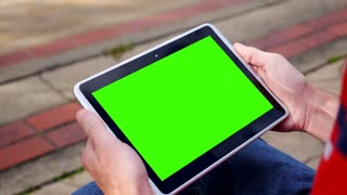 Green Screen Tablet PC 3581