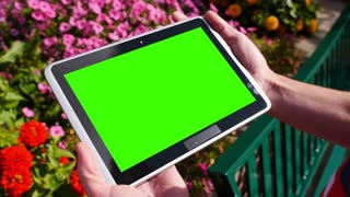 Green Screen Tablet PC 3582