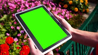 Green Screen Tablet PC 3583
