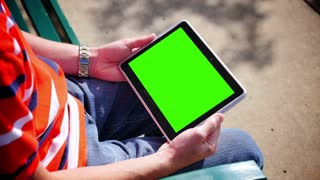 Green Screen Tablet PC 3584