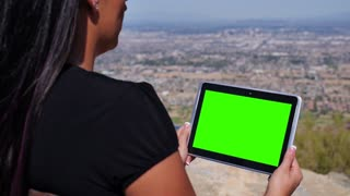 Green Screen Tablet PC 3684