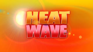 Heat Wave Background