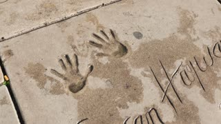 Hollywood Chinese Theater Handprints