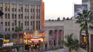 Hollywood's El Capitan Theatre Establishing Shot