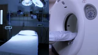 Hospital Equipment Composite MRI