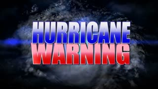 Hurricane Warning Background