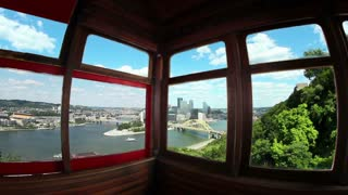 Inside the Duquesne Incline 2495