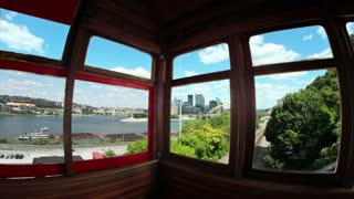 Inside the Duquesne Incline Timelapse 2496