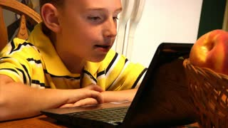 Kids with Laptop 896