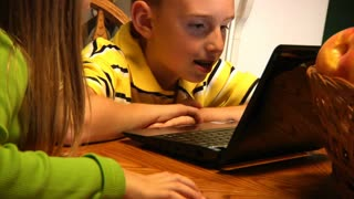 Kids with Laptop 897