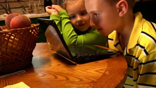 Kids with Laptop 898