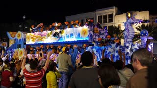Krewe of Endymion Float in a Mardi Gras Parade 4127
