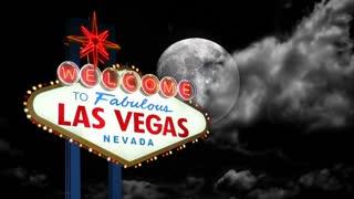 Las Vegas Sign Time Lapse Night