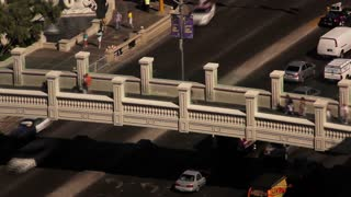 Las Vegas Traffic Overpass Aerial