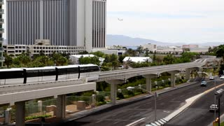 Las Vegas Tram on Track