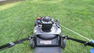 Lawn Mower Pusher POV