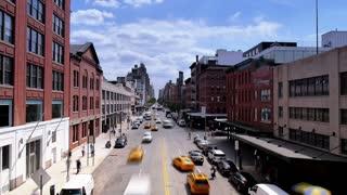 Manhattan Street Time Lapse