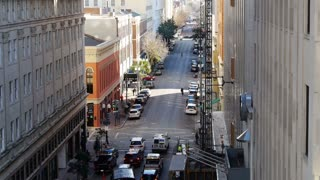 New Orleans Street Traffic View 4067