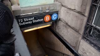 New York Subway Entrance
