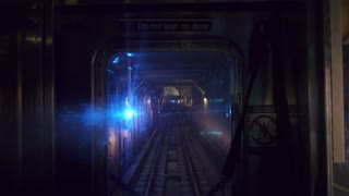 New York Subway Train POV 3461