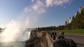 Niagara Falls Establishing Shot