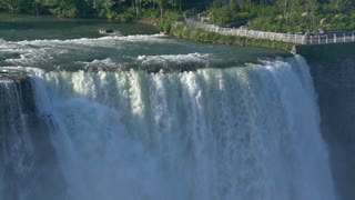 Niagara Falls in slow-motion. Shot at 96fps.