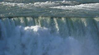 Niagara Falls in slow-motion. Shot at 96fps.