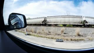 Passing Train in Western Pennsylvania