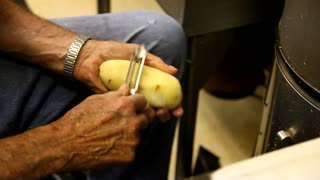 Peeling and Cutting Potatoes