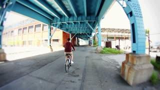 Pittsburgh Biker 2435