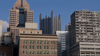 Pittsburgh Buildings from the Allegheny River