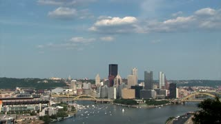 Pittsburgh Skyline 647 - Real Time