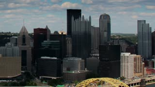 Pittsburgh Skyline Time Lapse 2502