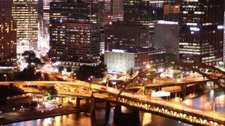 Pittsburgh Skyline Time Lapse Night 2515