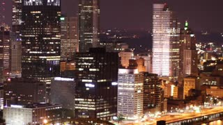 Pittsburgh Skyline Time Lapse Night 2516