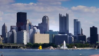 Pittsburgh Skyline Timelapse 3628