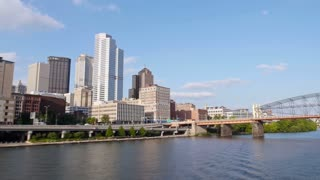 Pittsburgh Skyline Timelapse as Seen from Monongahela River