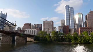 Pittsburgh Skyline as Seen from Monongahela River