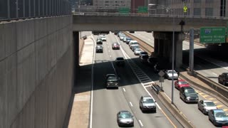 Pittsburgh Traffic Overhead Shot