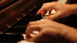 Playing Piano Background