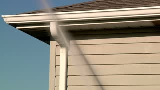 Power Washing Home Exterior