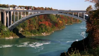 Rainbow Bridge at Niagara Falls