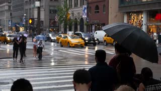 Rainy New York Streets